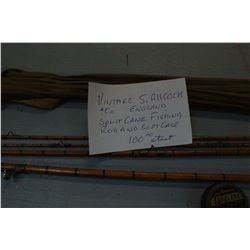 """Fly Fishing Rod with a Soft Case - """"Split Cane"""""""