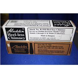 Aladdin Lamp Chimneys (2) - Heel-less