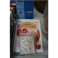 Aladdin Lamp Pop-up Book; Instruction Manual & a Collection of Model B Direction Booklets