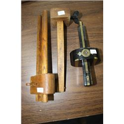 Scribes (3) - 2 Wooden and 1 Black & Brass