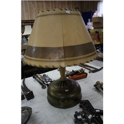 Gas Lamp with Paper Shade and Hanger