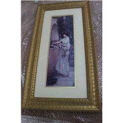 Ornate Rectangular Picture Frame