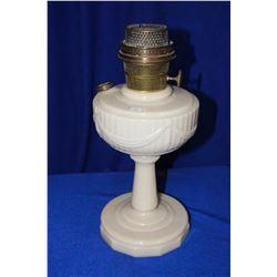 Aladdin Lincoln Drape Lamp with Cream Colored Base
