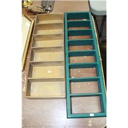 Wooden Shelving Units (2)