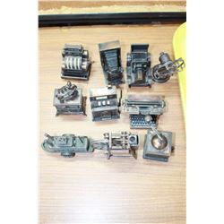 Collection of Pencil Sharpeners (10)