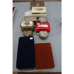 Collection of Jewelry Boxes (11)