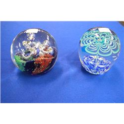 Glass Paper Weights (2)