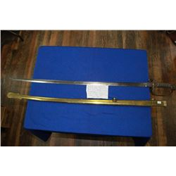British Infantry Officer's Sword by J.B. Johnstone, Pat. 1822, 1845-1857