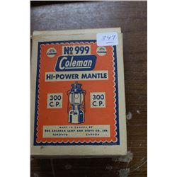 Box of Lamp Mantles - No. 999