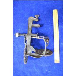 "Turn Table ""Apple Peeler"", Goodell Co, Antrim N.H., USA - Patent May 1898"