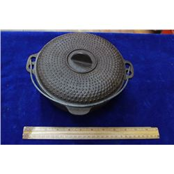 Cast Iron Pot & Lid - Made in Taiwan