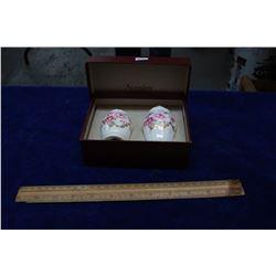 Aynsley China Salt & Pepper - in the Original Box