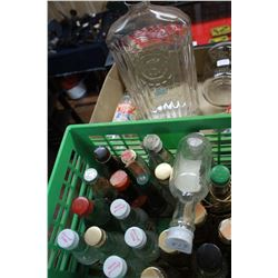 Collection of Assorted Bottles