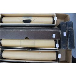 Four Piano Rolls (for a Player Piano) and Two Hymn Books