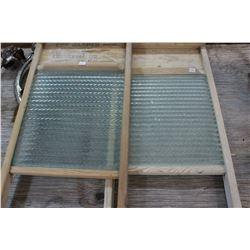 Glass Wash Boards (2) - 'The Jasper'