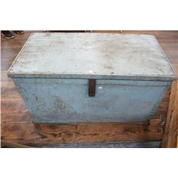Wooden Box (Green) with 2 Trays (Carpenter's)