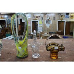 Glass Baskets (3)