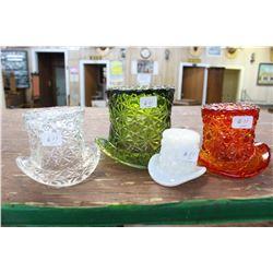 Glass Hats (4)