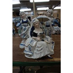Collection of Blue & White Figurines (3)