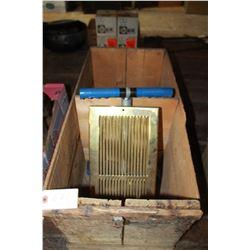 30 Dozen Egg Crate (no lid); an Air Vent & an Exerciser