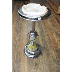 Floor Ashtray with the Ashtray (Harp Handle is Missing) but it does light up