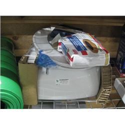 AMERICAN STANDARD TOILET TANK / SEAT / WAX RING