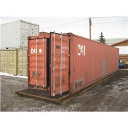 40 FT SEA CONTAINER MOUNTED ON SKID
