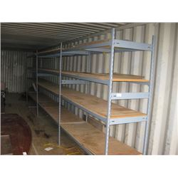 3 SECTIONS SHELVING