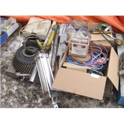 PALLET OF ASSORTED HARDWARE AND PARTS