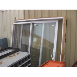 USED 68 INCH PATIO DOORS