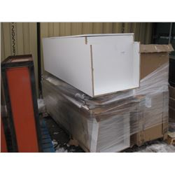 PALLET OF 4 DAMAGED PANTRIES