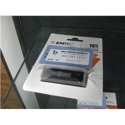EMTEC 16GB FLASH DRIVE