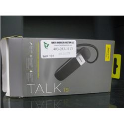 TALK 15 HANDS FREE EARPIECE