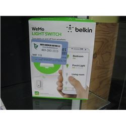 WEMO BELKIN LIGHT SWITCH