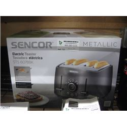 SENCOR METALLIC TOASTER 4 SLICER