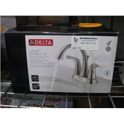 DELTA LHARA STAINLESS FINISH FAUCET