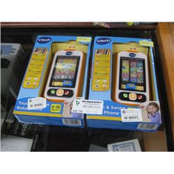 2PC VTECH TOUCH PHONE GAME