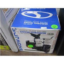 SNOW JOE 22 INCH 15 AMP ELECTRIC SNOW THROWER
