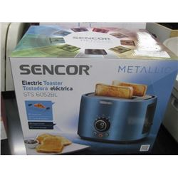 SENCOR METALLIC ELECTRIC TOASTER