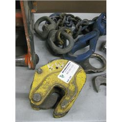 JET 1 TON CLAMP AND ACCESSORIES