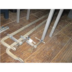 PAIR OF 44 INCH CLAMPS