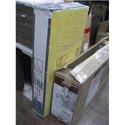 BOX OF 12PC FIBER GLASS CEILING PANELS