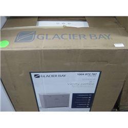 GLACIER BAY EVERDEAN 36 INCH VANITY COMBO CRACKED TOP