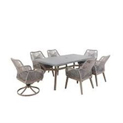HAMPTON BAY LUXLEY 7PC DINING SET