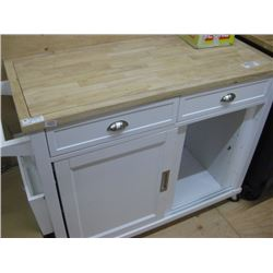 43 INCH MOBLIE KITCHEN ISLAND