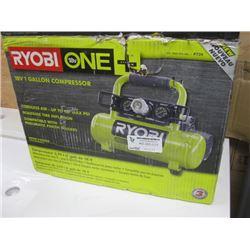 RYOBI 18V ONE GALLON COMPRESSOR