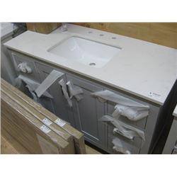 Home Decorators Collection Sonoma 48-inch Pebble Grey Single Sink Vanity