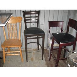 4 SAMPLE CHAIRS