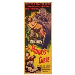 The Mummy's Curse Insert Poster.