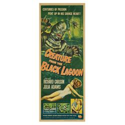 Creature from the Black Lagoon Insert Poster.
